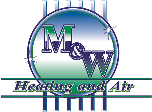 M & W Heating and Air Logo